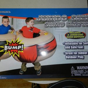 MD Sports Sumo Match Jumbo Size Bumper Boppers (Includes 2 Boppers)