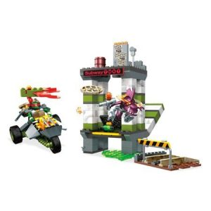 Mega Construx Teenage Mutant Ninja Turtles Sewer Subway Chase
