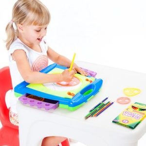 Crayola Art To Go 4 In 1 Spiral Art Studio