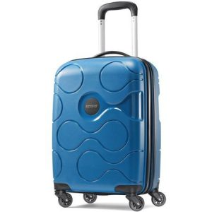 Walmart American Tourister MXP 20″ Luggage with Spinners, Hardside – Blue