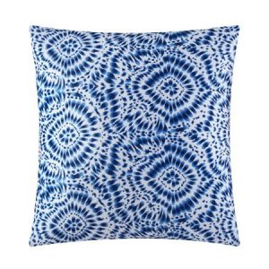 Mainstays Blue Tie Dye Decorative Pillow