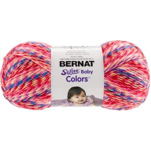 Bernat Softee Baby Colors Yarn, 4.2 Ounc, Single Ball