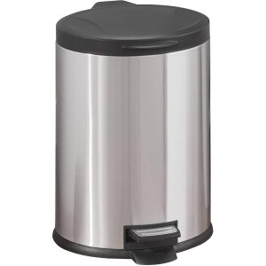 Walmart Better Homes & Garden 3.1 Gallon Oval Stainless Steel Waste Can