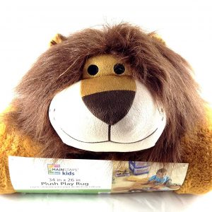 Mainstays Kids Plush Play Rug – Lion Design