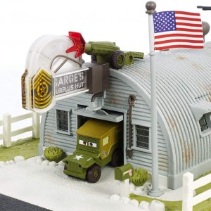 Disney/Pixar Precision Series Sarge's Surplus Hut Playset